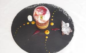Palet chocolat et mangue aux effluves de litchi