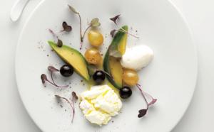 FROMAGE FRAIS DE VACHE, raisin, piment