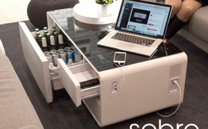 Sobro, la table basse gadget