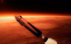 Space X vise Mars