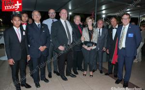 Rotary club de Saint-Denis : Transmission de collier