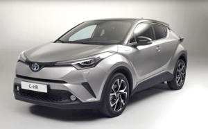 Toyota C-HR : L'excellent SUV