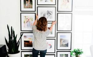 Affichez vos photos de famille !