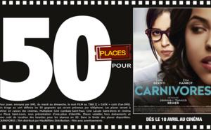 """Cinéma - 50 places à gagner pour """"Carnivores"""" avec le réseau Mauréfilms"""