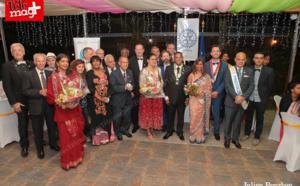 Rotary club Saint-Paul Baie : Passation de collier