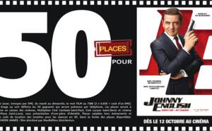 """Cinéma - 50 places à gagner pour """"Johnny English"""" avec le réseau Mauréfilms"""