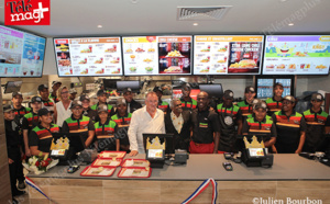 Burger king : Inauguration à Grand Fond