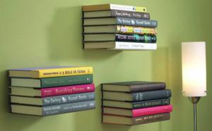 Décorer avec des livres