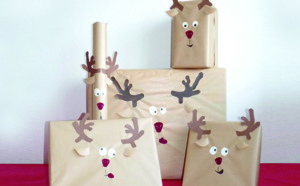 Des emballages originaux pour Noël !