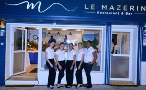 Inauguration du restaurant Le Mazerin, à Saint-Denis, rue Juliette Dodu
