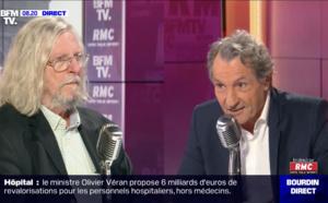 """""""Je vais me lever et m'en aller"""": Échange houleux entre Didier Raoult et Jean-Jacques Bourdin"""
