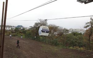 Décollage réussi des premières cabines du téléphérique urbain de la CINOR.