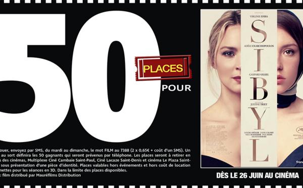 """Cinéma - 50 places à gagner pour """" SIBYL """" avec le réseau Mauréfilms"""