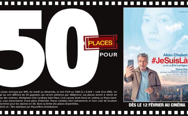 """Cinéma - 50 places à gagner pour """" #JeSuisLà """" avec le réseau Mauréfilms"""