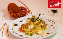 Spaghetti aux Langoustes de Tristan da Cunha
