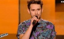 """Avec sa reprise de """"Baby I'm yours"""" de Breakbot, JJ a enflammé la scène de The Voice!"""