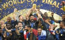 Football - Mondial 2018 : Les Bleus sur le toit du monde