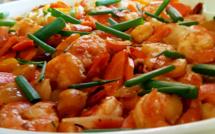 Sauté crevettes