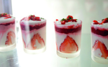 Tiramisu au lemon curd et aux fraises