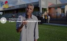 O'sport : départ de la flamme des JIOI