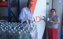 L'ADIR offre 1 500 litres de solution hydro alcoolique à l'URMLOI
