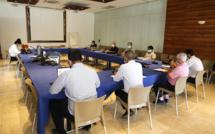 Le Président Cyrille Melchior consulte les associations des parents d'élèves au sujet de la réouverture de l'école