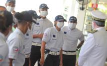 Cérémonie de sortie de la 16ème promotion des cadets de la République Base aérienne 181 à Sainte Marie