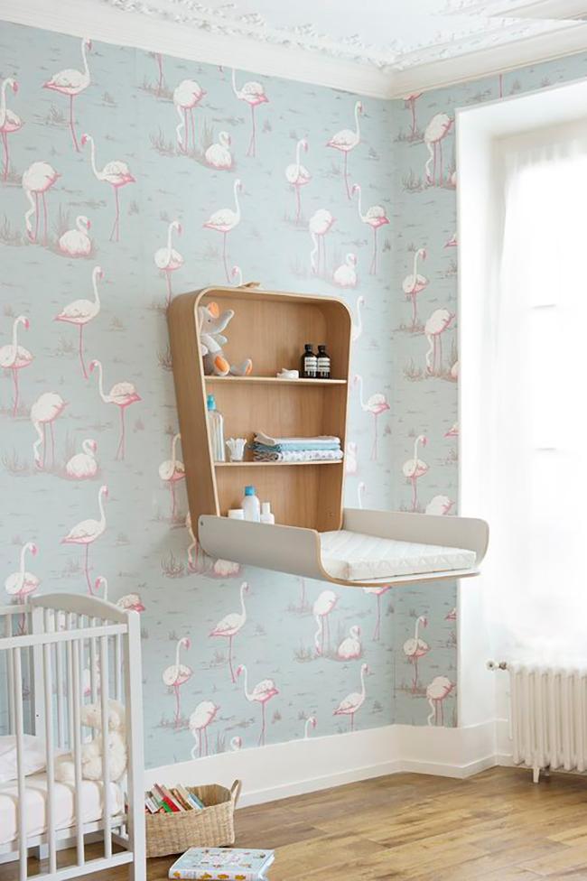 trop cool la tendance flamingo. Black Bedroom Furniture Sets. Home Design Ideas